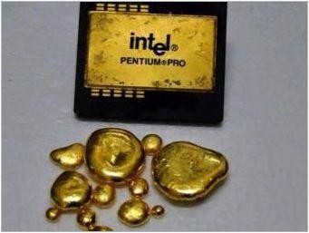 Как да получите злато от радио компоненти?