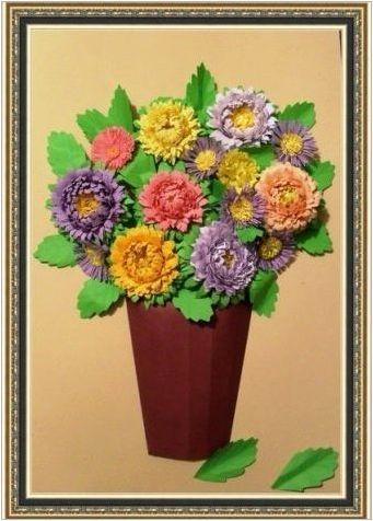 Appliques на тема & # 171 + Autumn Bouquet & # 187 +