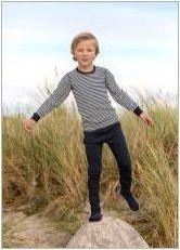 Детска топлозърнеста бельо Джоха: характерен, избор, грижа