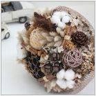 Букети от естествени материали