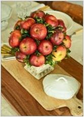 Разнообразие от букети от ябълки