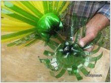 Цветя от пластмасови бутилки със собствените си ръце