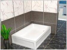 Акрилни душ палети: плюсове и минуси, сортове, избор