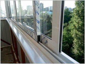 Алуминиеви плъзгащи прозорци на балкона: сортове, избор, монтаж, грижа