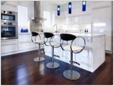Бар столове за кухня: видове и тънкости по избор