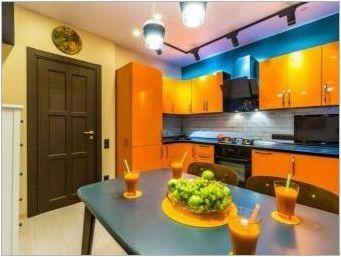 Цветове на масата за кухнята: видове и правила за избор
