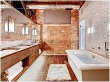Детайли за баня с таванско помещение
