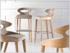 Дървени столове за кухня: видове и селекция