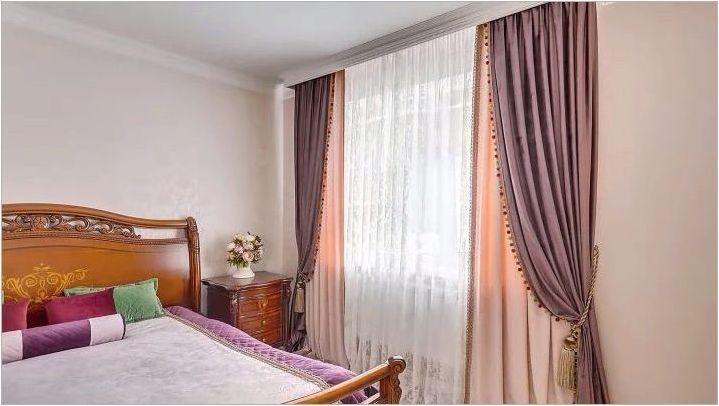 Двойни завеси за спалнята: Какво се случва и как да изберете?