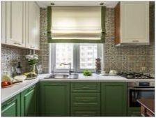 Готови завеси за кухня: характеристики и съвети за избор