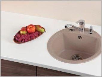 Гранитни мивки за кухнята: видове и селекция