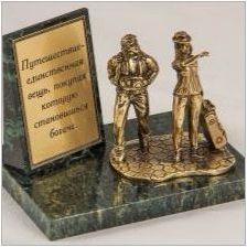 Характеристики на бронзовите статуетки