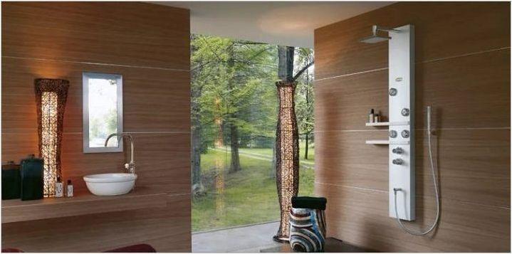 Характеристики на душ панели с хидромасаж