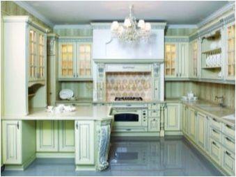 Индикации в кухнята в стил на английски стил