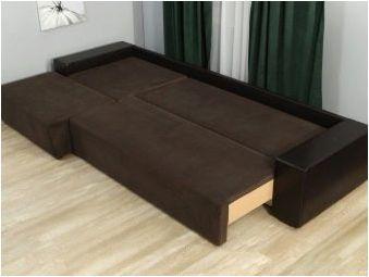Изберете ъглов диван за сън