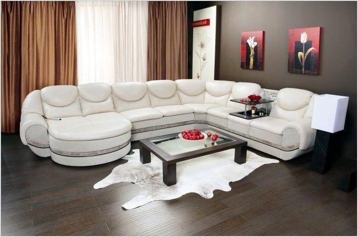Как да изберем ъглов диван с маса?