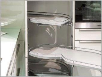Как да изберем въртележка в кухненския гардероб?