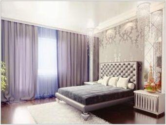 Как да изберем завеси в спалнята на цвят?