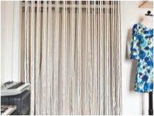 Конци за пердета в кухнята: характеристики, съвети за избор и закрепване
