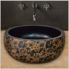 Кръгли черупки в банята: функции, разновидности, избор