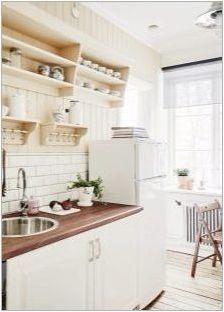 Кухненски маси и столове за малки кухни: видове и избор