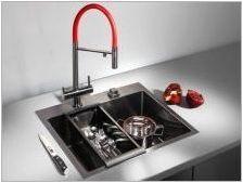 Кухненски мивки: сортове, селекция и грижа за измиване