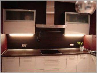 Кухненски престилки от ламинат: функции, плюсове и минуси, избор и грижа