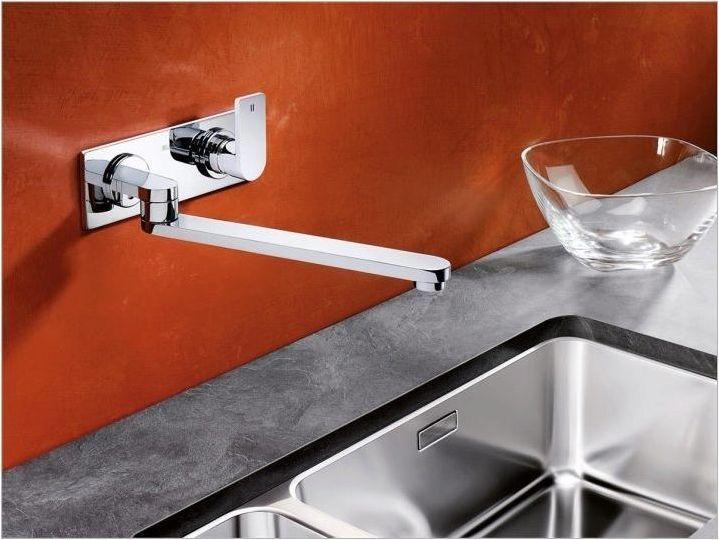 Кухненски смесица, монтирани с стена: сортове и съвети за избор