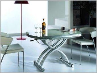 Кухненски стъклени таблици: Типове и избират