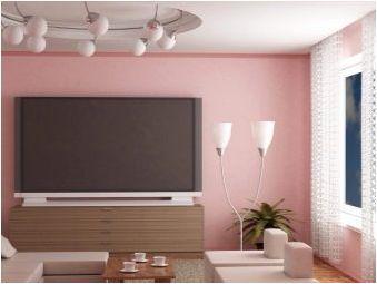 Леки тапети в залата: Характеристики и препоръки
