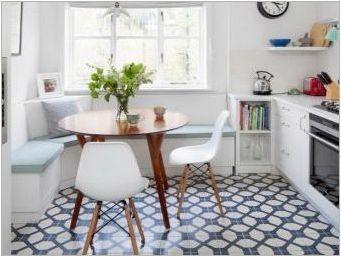 Малки дивани за кухнята: какво се случва и как да изберем най-доброто?