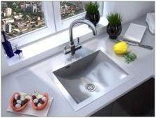 Малки мивки за кухнята: интересни опции и съвети за избор