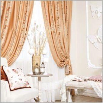 Ние избираме завеси за сива спалня