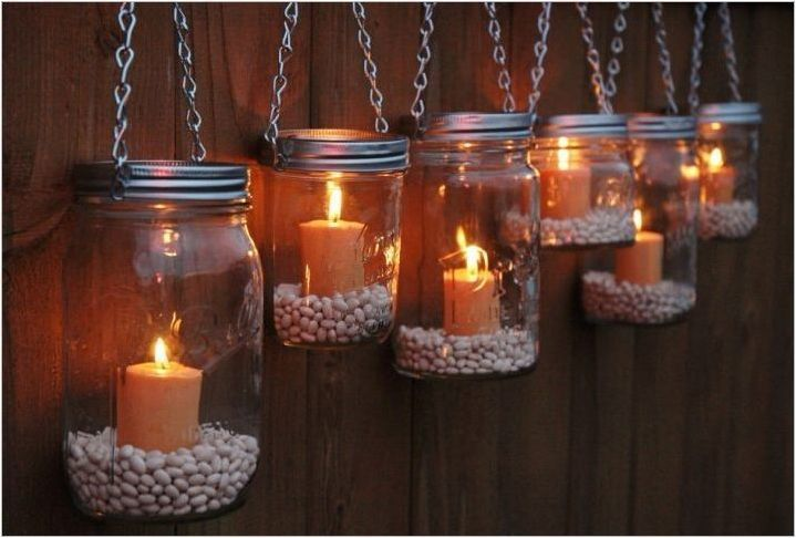 Осъществяване на свещници от кутии