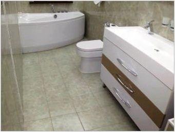 Плочки на пода в банята: сортове и съвети за избор