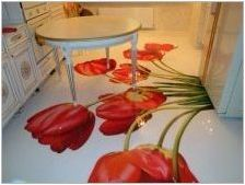 Подове в кухнята: видове, избор, интересни решения