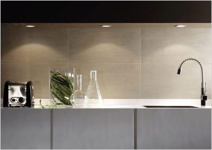 Размерите на престилки в кухнята: характеристики на подбора и инсталацията