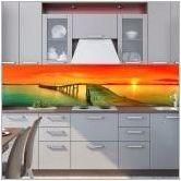 Стъклени престилки с печат на снимки: дизайн и съвети за избор