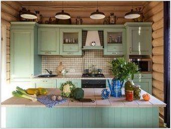 Страна стил кухненски идеи