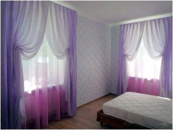 Тюл в спалнята: какво се случва и как да се вземат?