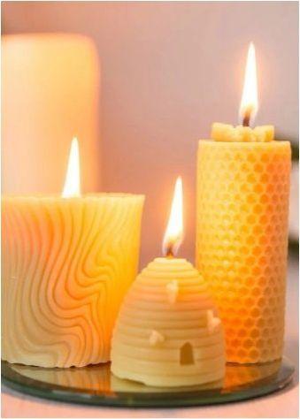 Всичко за восъчните свещи