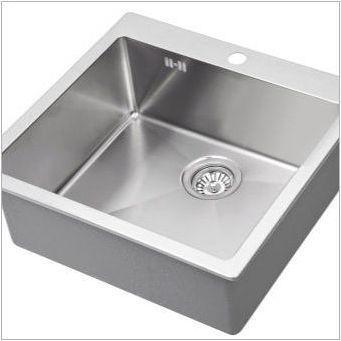 Въздушни мивки за кухнята: характеристики на избор и монтаж