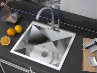 Zorg Мивки за кухня: преглед на сортовете, характеристиките и препоръките за избор