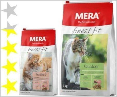 Характеристики на котки за котки и котки Mera