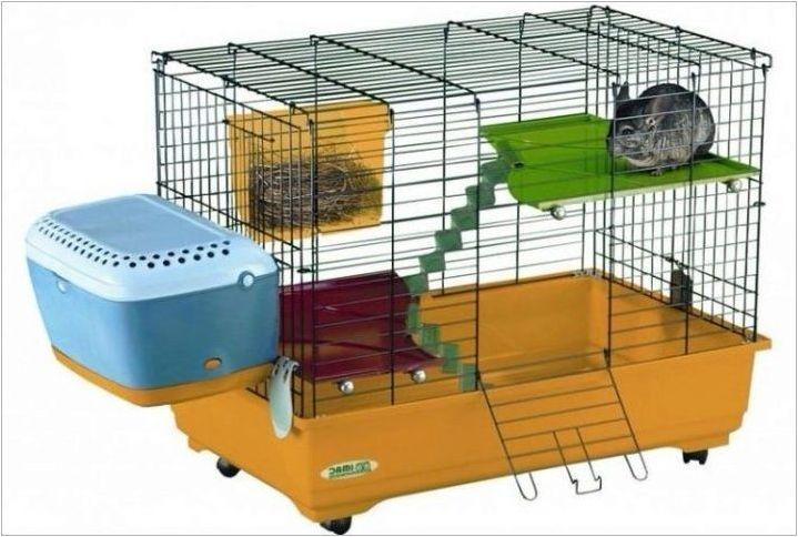 Клетки за чинчила: видове, характеристики на избор и подреждане