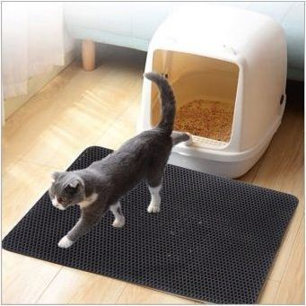 Високи странични тарелки за котки