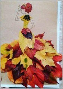Апликации & # 171 + Есенно момиче & # 187 +
