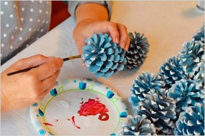Какво и как можете да рисувате подути за занаяти?