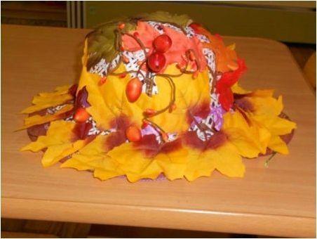 Опции за производство на есенни занаяти & # 171 + Hat & # 187 +