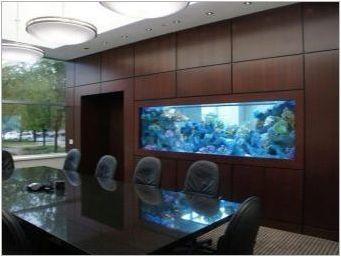 Къде да се постави аквариум Fanshui?